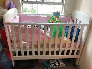 BB 床 baby cot 0/3 baby free minimoto bedding