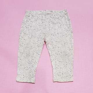 Celana legging soft pink, anak 2th