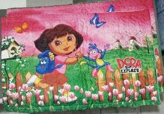 Pair Quilted Pillowcase- Dora and Boots