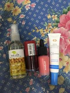 Bali Ratih Body Mist,Water Tint Etude House,Peripera Airy Ink,Illuminare Spot Corrector