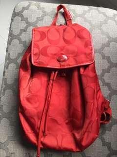 Authentic Coach Bag Pack