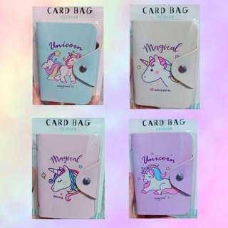 🦄 Unicorn Card Holder / Card Bag