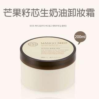 🚚 韓國THE FACE SHOP 芒果籽芯生奶油卸妝霜(200ml)