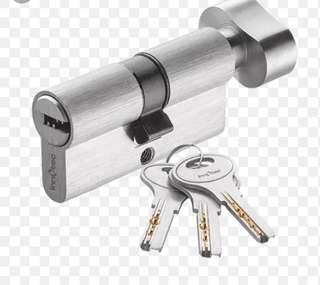 Customise cylinder lock