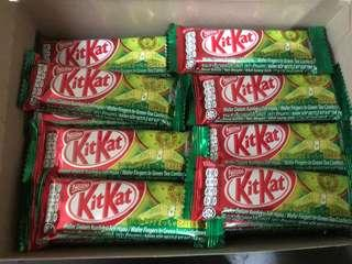 Nestle KitKat Green Tea (Matcha)