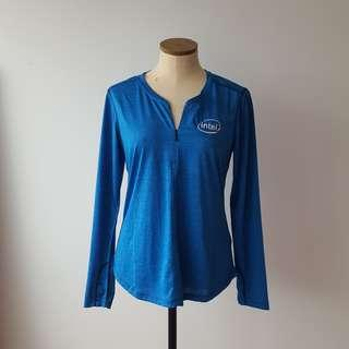 Blue Intel Shirt