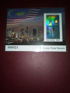 Stamps Petronas Twin Towers