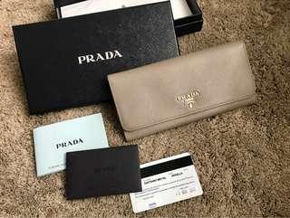 Authentic PRADA Maltasse Wallet