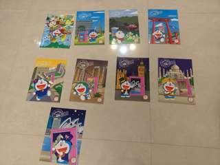 🚚 (7-11)哆啦A夢環遊世界B5筆記本