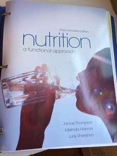 Nutrition textbook