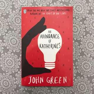 An Abundance Of Katherines ~ John Green