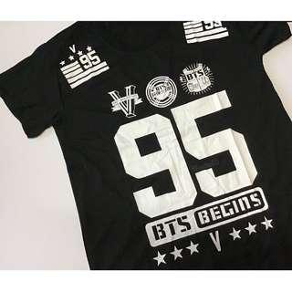KPOP BTS V Kim Taehyung Freesize Tee shirt