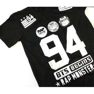 KPOP BTS RAPMONSTER freesize tee shirt