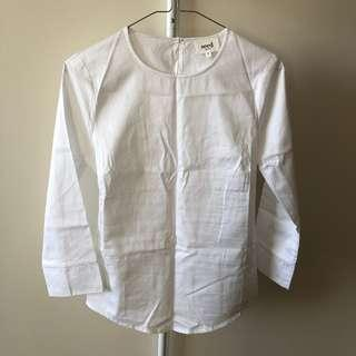Seed White Back Knot Shirt (Aus Size 6)