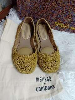 brand new authentic melissa campana shoes not mk,ks,guess,gucci,keds