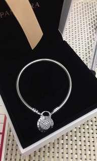 Pandora Signature Padlock Bracelet