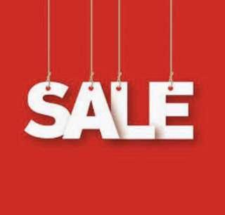 ONGOING SALE!!!!!