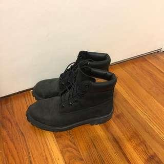 Timberland black boots PRICE FIRM