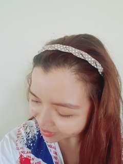 Polkadot headband