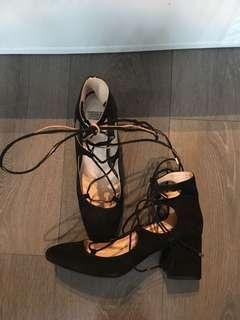 Zara heeled shoe, size 9