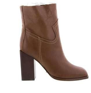 BNIB Tony Bianco Leather Ankle Boots