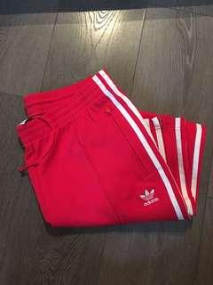Adidas red pant, Size M