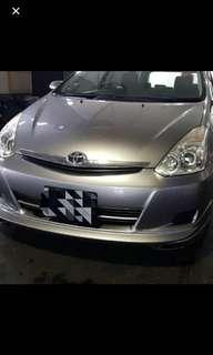 [COE Car / GoJEK / Grab / Car rental] Toyota Wish $360 Weekly for rent