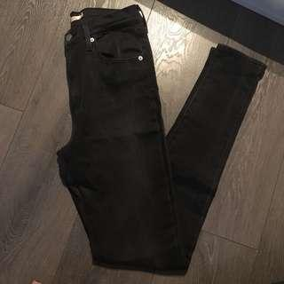 Levi's mike high skinny, Size 28