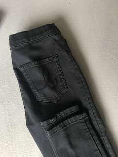 black just jeans size 10