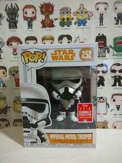 Funko Pop Imperial Patrol Trooper Summer Convention Exclusive Vinyl Figure Collectible Toy Gift Movie Star Wars