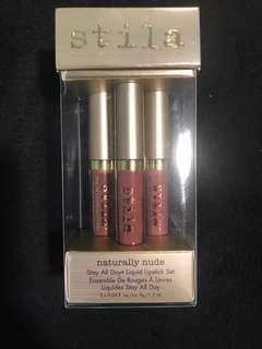 Stila Naturally Nude Stay All Day Liquid Lipstick Set