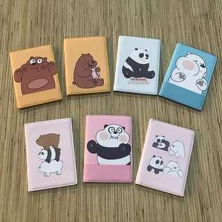We Bare Bears Passport Holder
