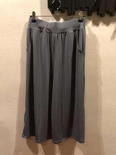Soft Stretch Culottes, FS, Dark Gray