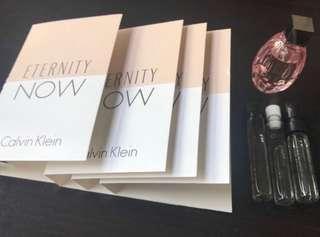 Calvin Klein Eternity Now Perfume samples