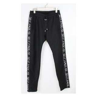 Selfmade by Gianfranco embroidered men pants made in Italy