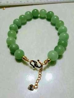 Handmade jade bracelet ikat suasa #GayaRaya