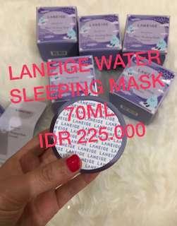 STOCK MENIPISSS !!! LANEIGE WATER SLEEPING MASK LAVENDER 70ML