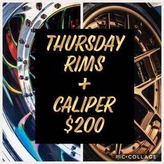 RIMS + caliper promo