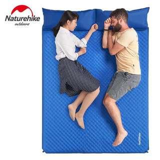 Naturehike double self inflating pad bed for camping