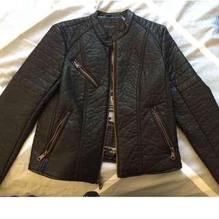 Andrew Marc genuine leather jacket - almost brand new