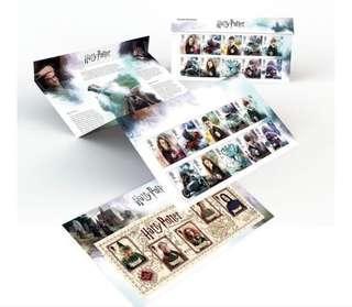 (需預訂) Harry Potter 2018 Collection Stamps Pack