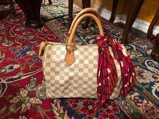 Louis Vuitton speedy damier azure