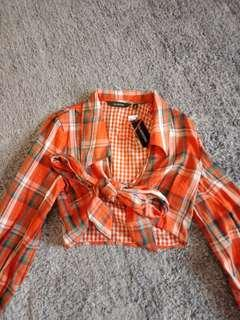 Checkered Wrap Flannel