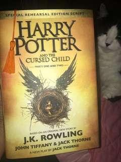*HARDCOVER Harry Potter & the Cursed Child (Parts 1&2)