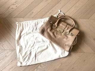 Jimmy Choo rosalie leather bag 全皮手挽袋