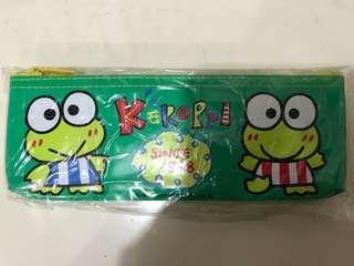 Sanrio 93年 Kerokerokeroppi 青蛙筆袋