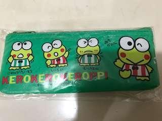 Sanrio 90年 Kerokerokeroppi 青蛙筆袋