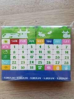 kingkow d.i.y. perpetual calendar 自由創作 月曆