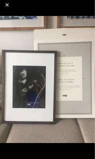 Large Walnut Picture Frames