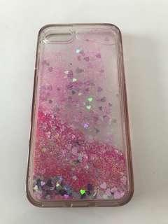 Iphone7 glitter case